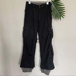 Burton black ski pants size XS